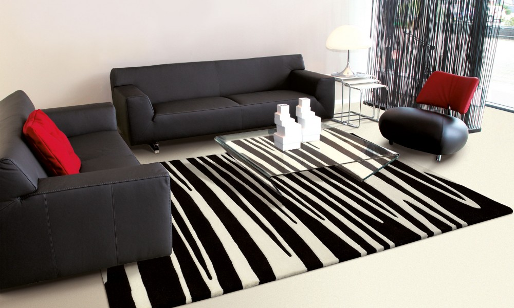 tapis de salon un l ment indispensable de la d coration int rieure. Black Bedroom Furniture Sets. Home Design Ideas