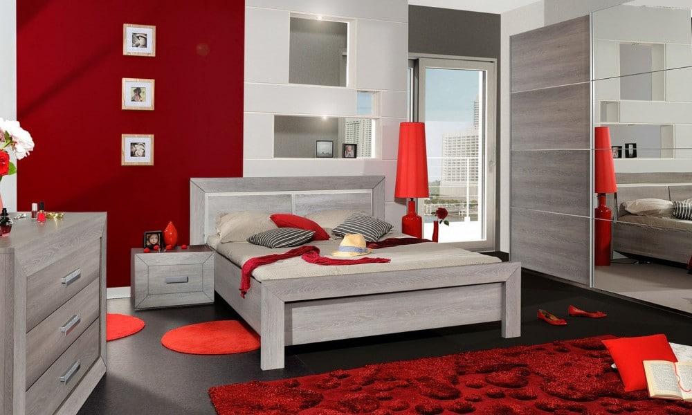 chambre à coucher complète moderne
