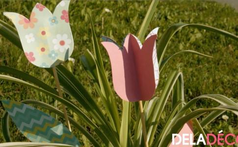 Décoration Pâques fleurs diy