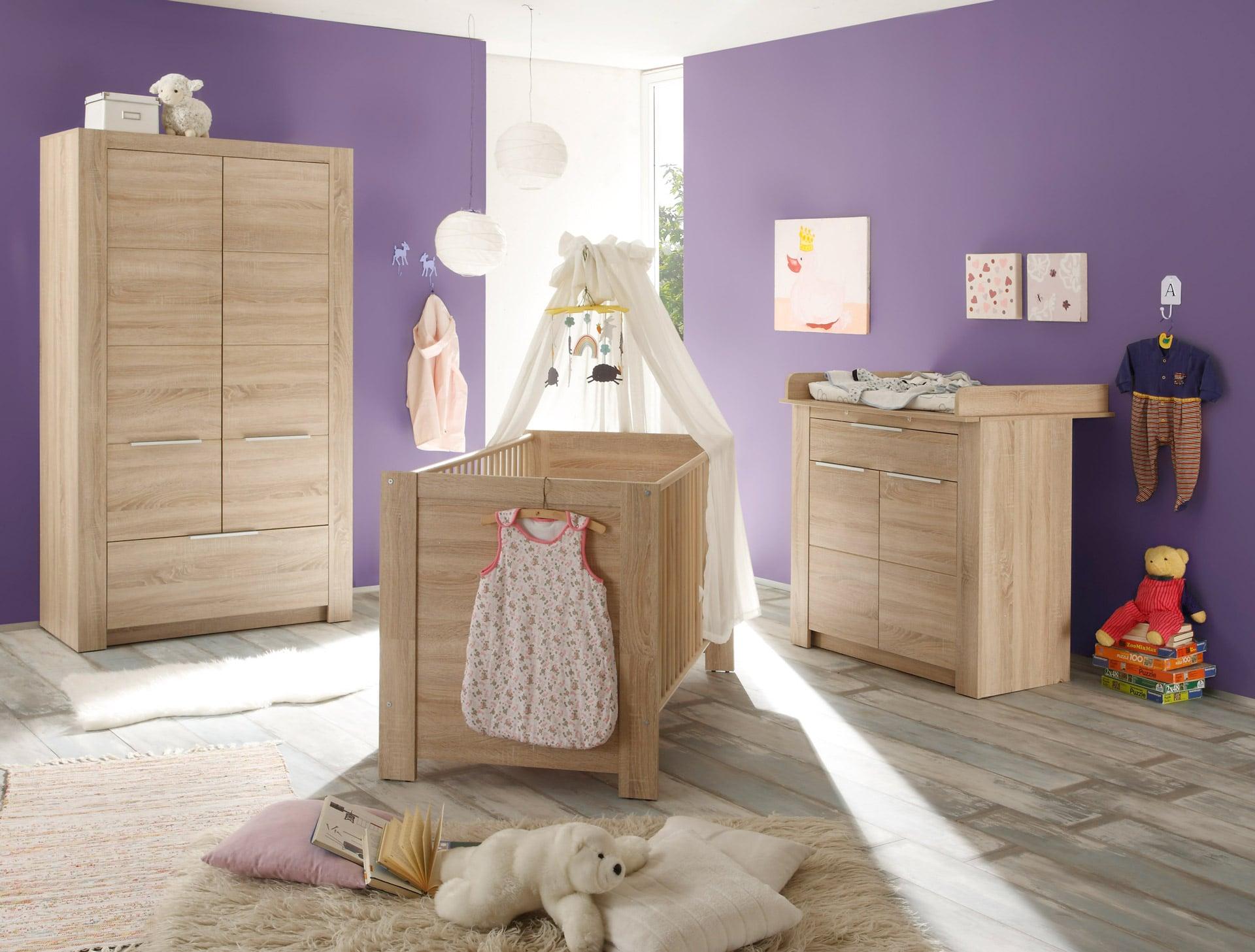 inspiration d coration pour la chambre de b b. Black Bedroom Furniture Sets. Home Design Ideas