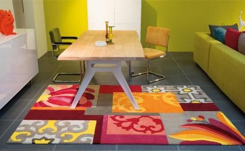 osez une déco colorée dans votre salle à manger