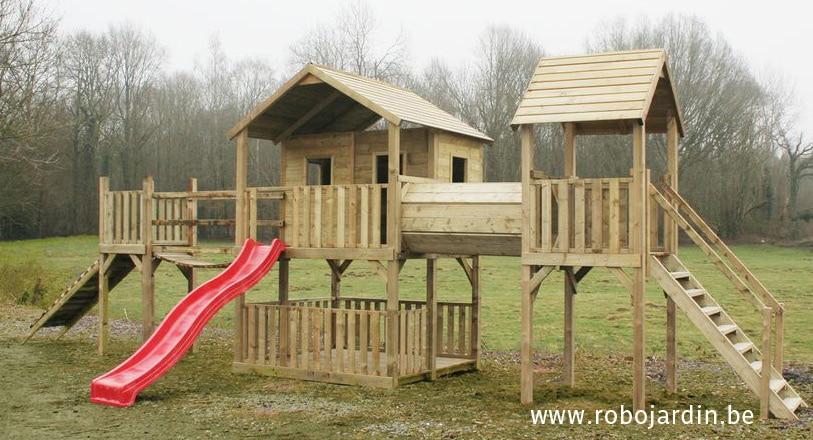 romain bois portique bois