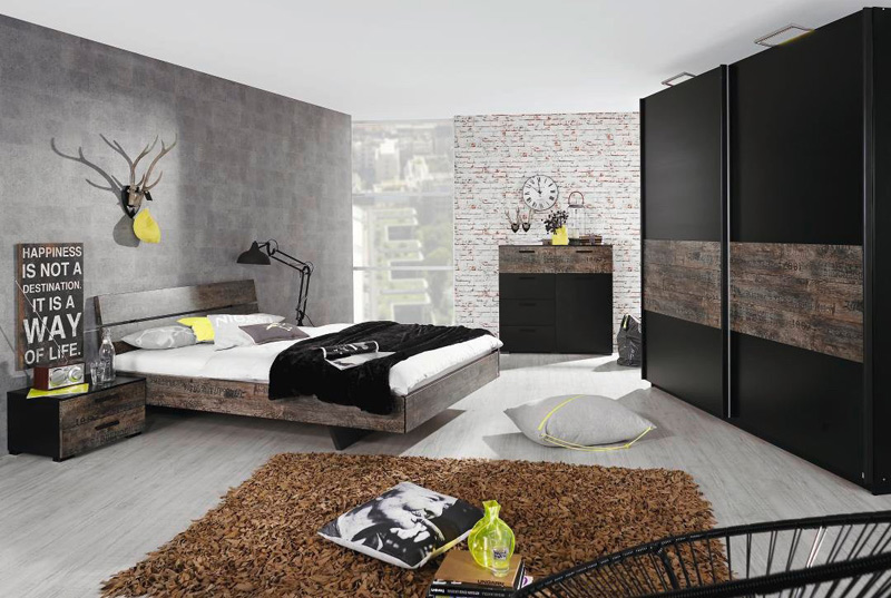 d coration industrielle du caract re l tat brut. Black Bedroom Furniture Sets. Home Design Ideas
