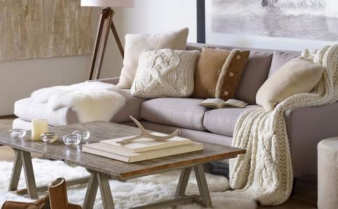 un interieur cosy pour affronter l'hiver