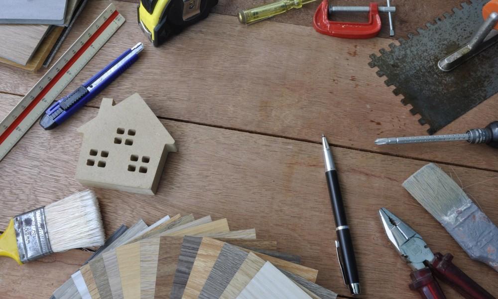 les plans d'une maison