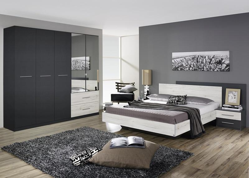 Chambre gris vert photos de conception de maison for Chambre gris clair