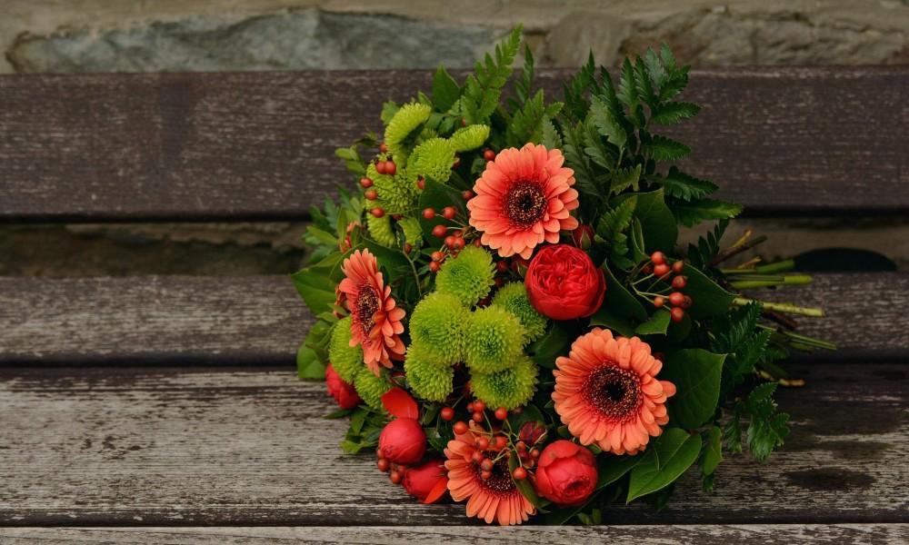 décoration florale et automnale