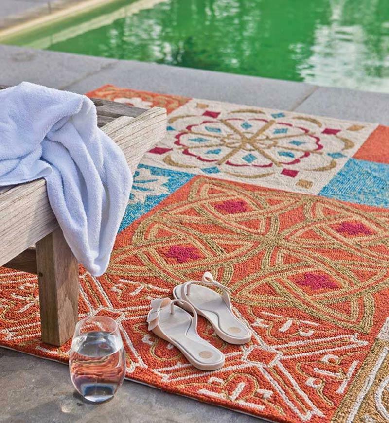 un tapis de terrasse pour le plaisir