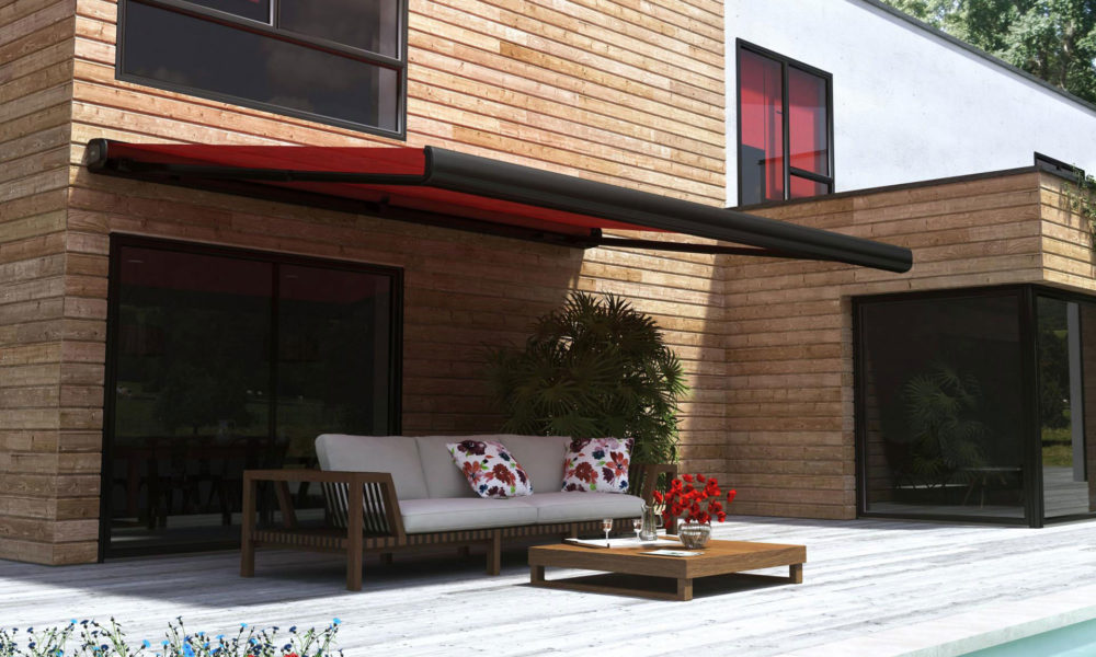 Stores extérieurs pour la terrasse