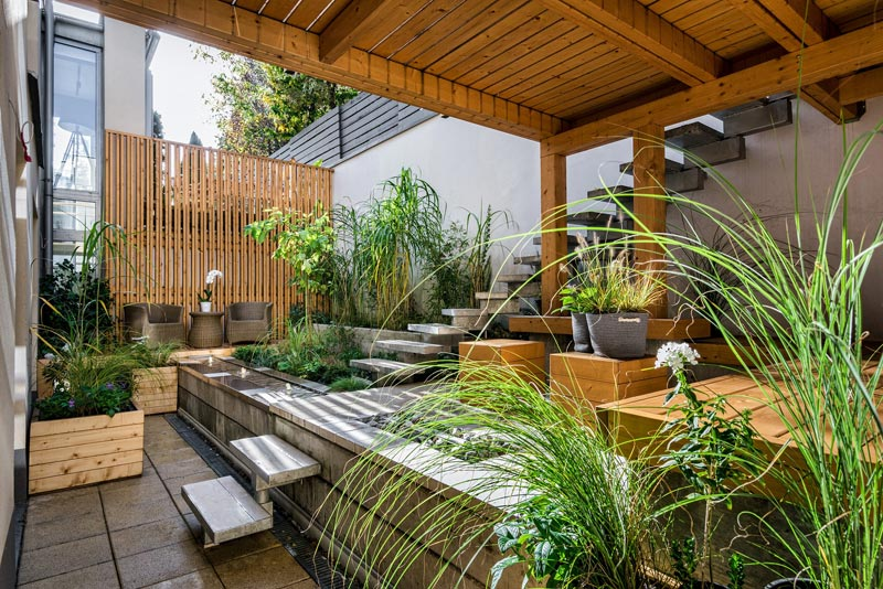une terrasse sublimée pour l'été