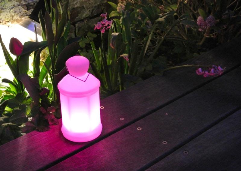 lampe à poser de jardin
