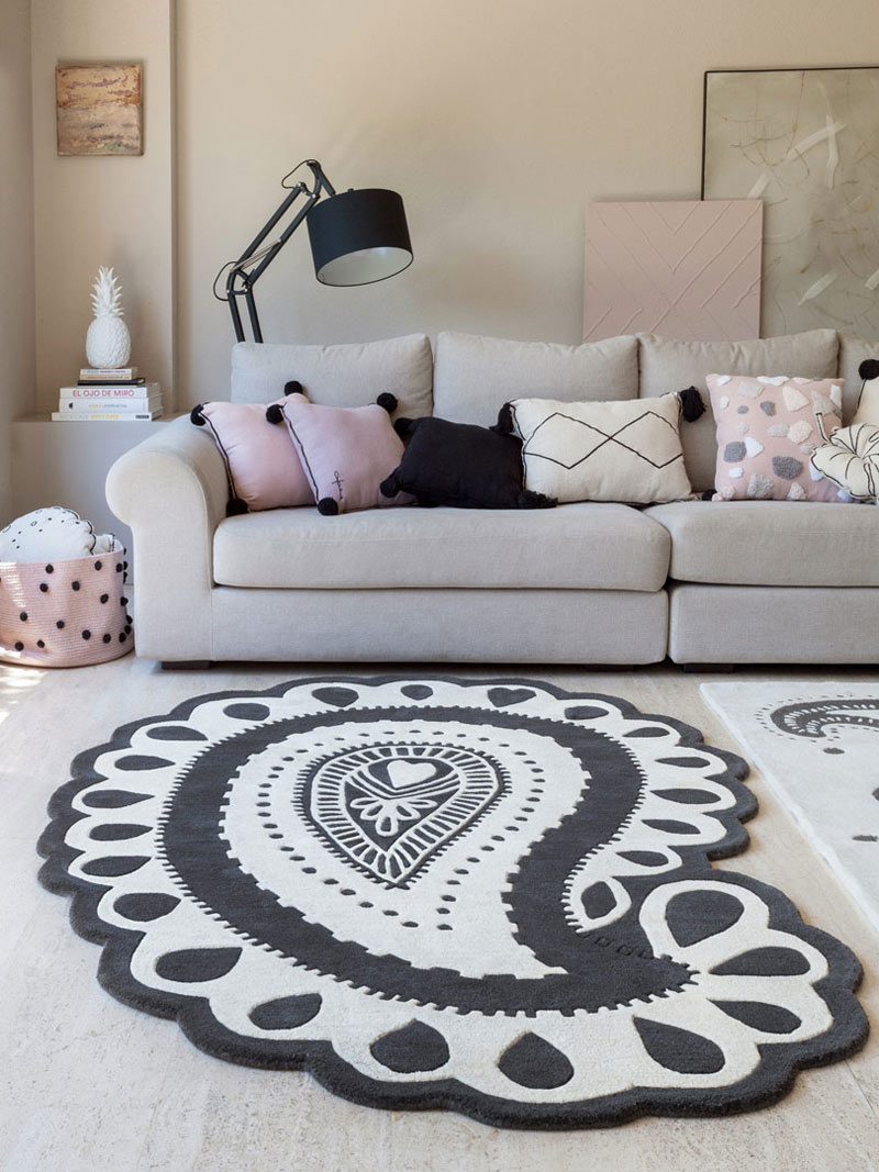 le tapis offre une nouvelle vie à votre salon