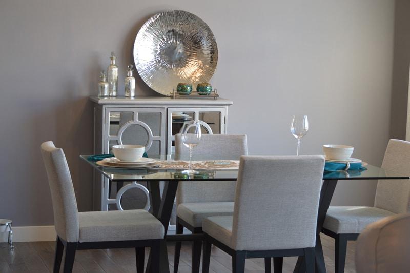 une salle à manger personnalisée