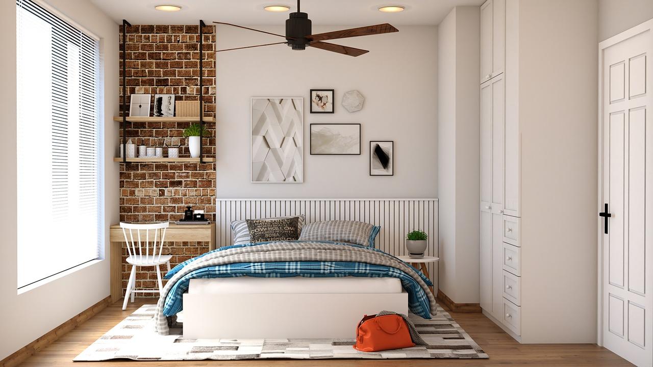 Chambre Adulte Avec Bureau comment aménager un coin bureau dans une chambre ? - deladeco.fr