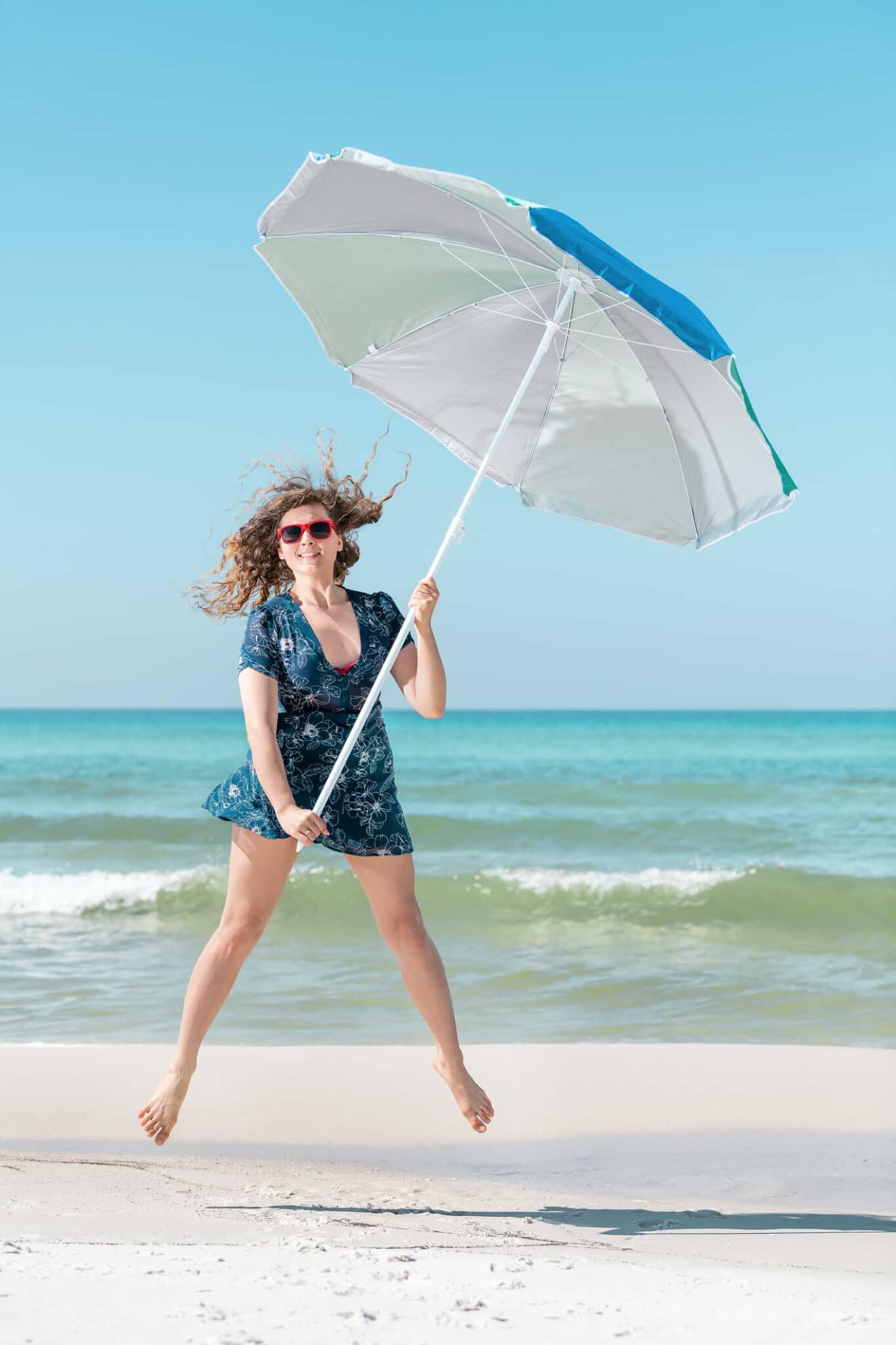 Quel parasol quand il y a du vent