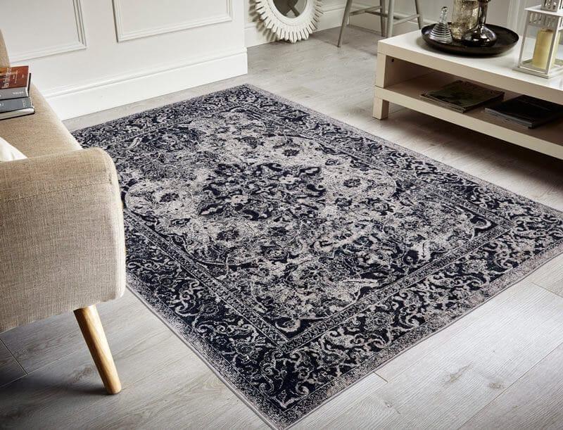 tapis coton pour salon