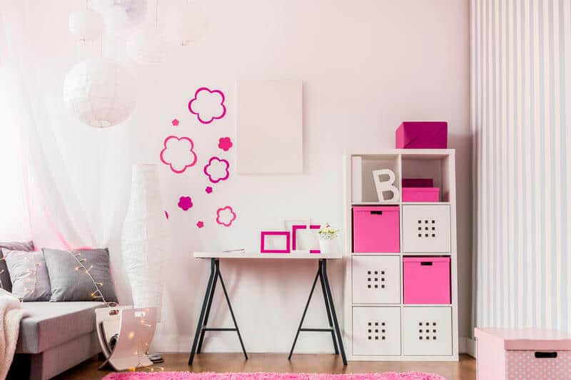 décoration chambre astuces petite fille